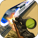 Sniper Shooter 3D-Police Train Shooting Game 2018 icon