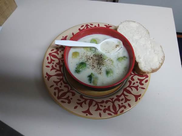 Creamed Brussel Sprout Soup Recipe