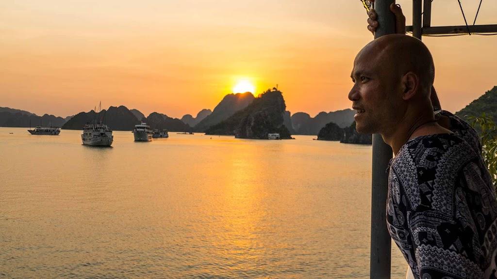 Master Wong training Experience in Vietnam