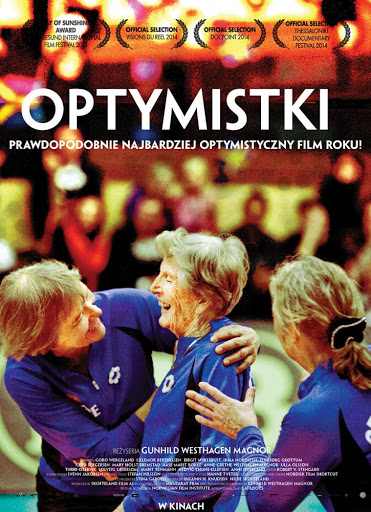 Polski plakat filmu 'Optymistki'