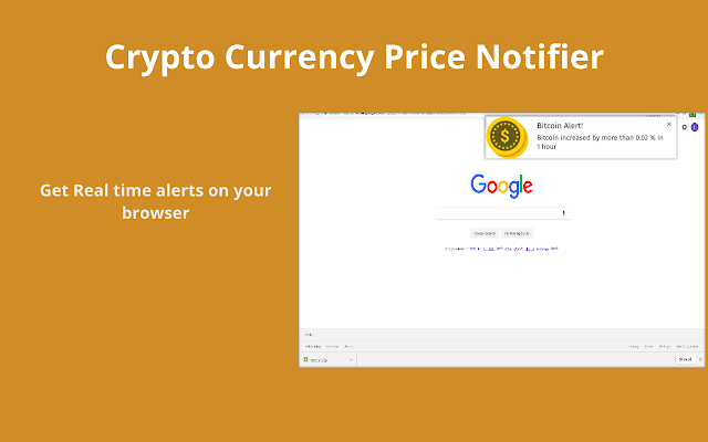 price change alets for cryptocurrency