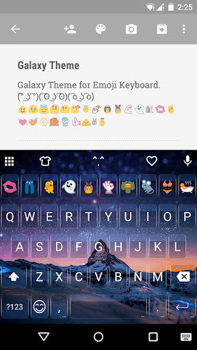 Keyboard Emojis For Android