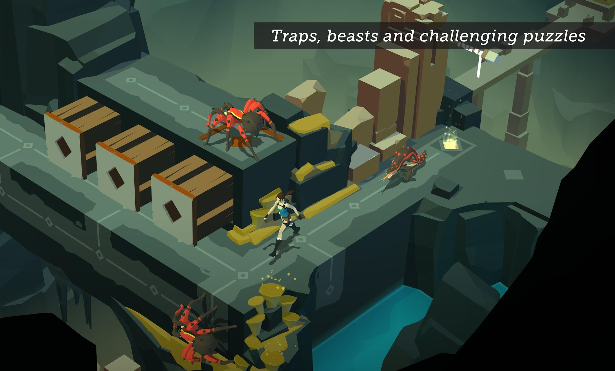 Lara Croft GO screenshot #7