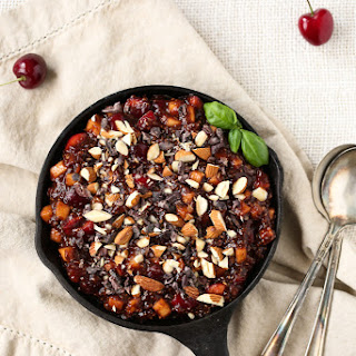 Raw Cherry-Apple Pie Breakfast Bowl