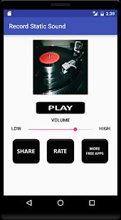 Record Static Sound - náhled