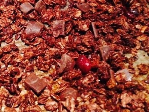 Back To School Chocolate Granola Recipe