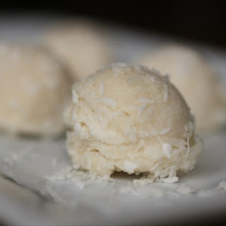 No-Bake Coconut Snowball Cookies
