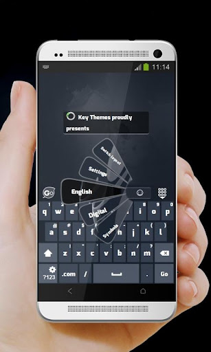 Musical images GO Keyboard