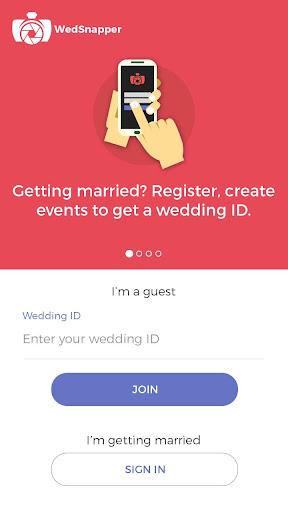 WedSnapper - Wedding Photo App