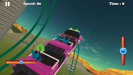 Hill Mountain Roller Coaster- screenshot thumbnail