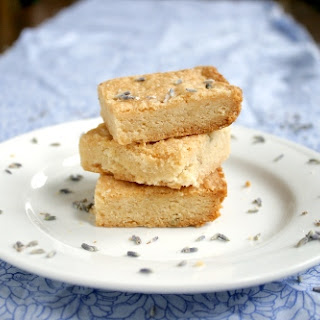 Honey Lavender Shortbread