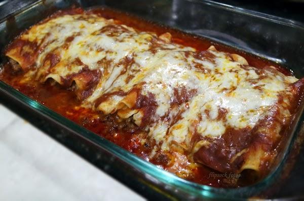 Lynn's Enchiladas With Homemade Sauce Recipe