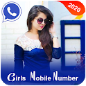 Girls Mobile Number : Girlfriend Calling Prank icon