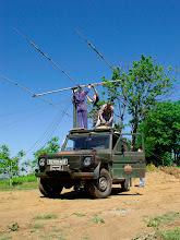 Photo: Pritrjevanje antene 2