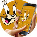 Cute Brown Smart Mouse Theme icon