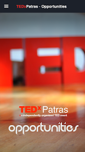 TEDxPatras - Opportunities- screenshot thumbnail