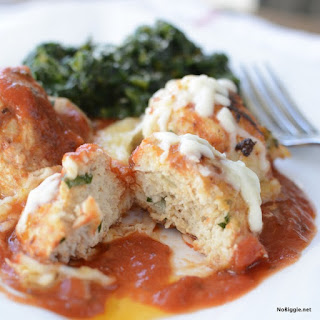 Chicken Parmesan Meatballs