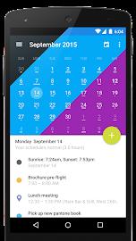 Today Calendar 2016 Screenshot 5