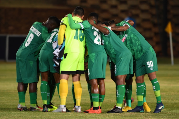 AmaZulu FC during the Absa Premiership match between Bidvest Wits and AmaZulu FC at Bidvest Stadium on August 29, 2018 in Johannesburg, South Africa.