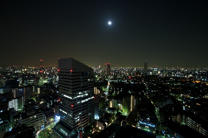 Photo: The view from my room on the 23rd floor of the Cerulean Tower in Shibuya.