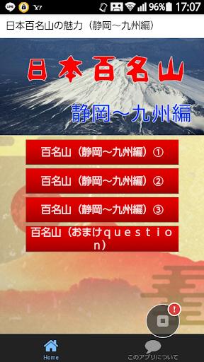 日本百名山の魅力(静岡~九州編)
