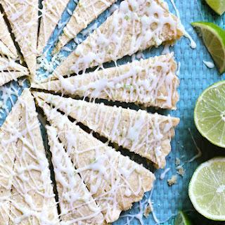 Lime Shortbread Cookies.