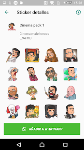Download CStickers - Stickers divertidos para WhatsApp For PC Windows and Mac apk screenshot 6