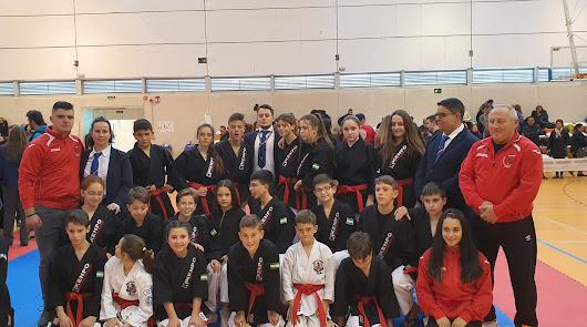 21 deportistas del Kenpo Río Nacimiento entran en la selección andaluza