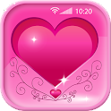 Pink Hearts Live Wallpapers icon