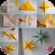 簡単な折り紙のチュートリアル