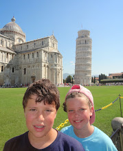 Photo: The leaning tower is in sight!