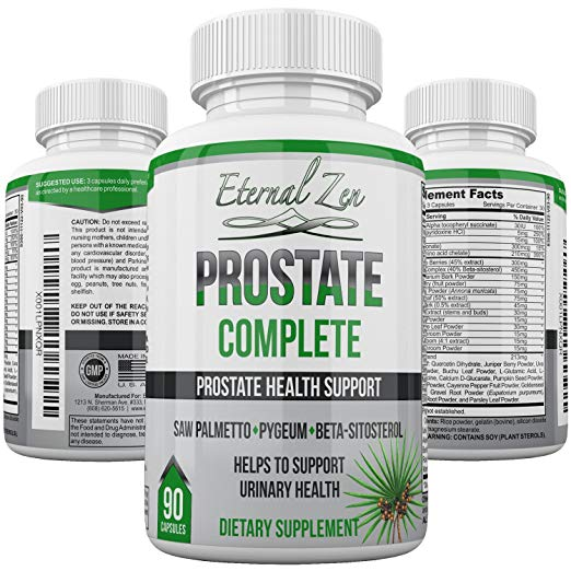 image of Eternal Zen prostate supplement