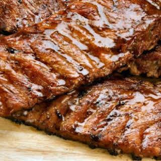 Portuguese Grilled Pork Ribs.