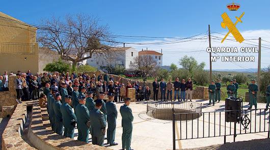 Guardia Civil homenajea a José Martínez Pérez en el 40º aniversario de su muerte