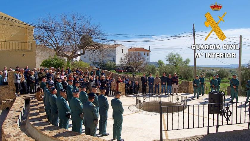 Imagen del acto de homenaje.