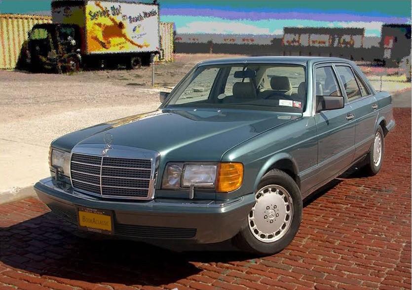 Mercedes Benz 300se Hire Baldwin