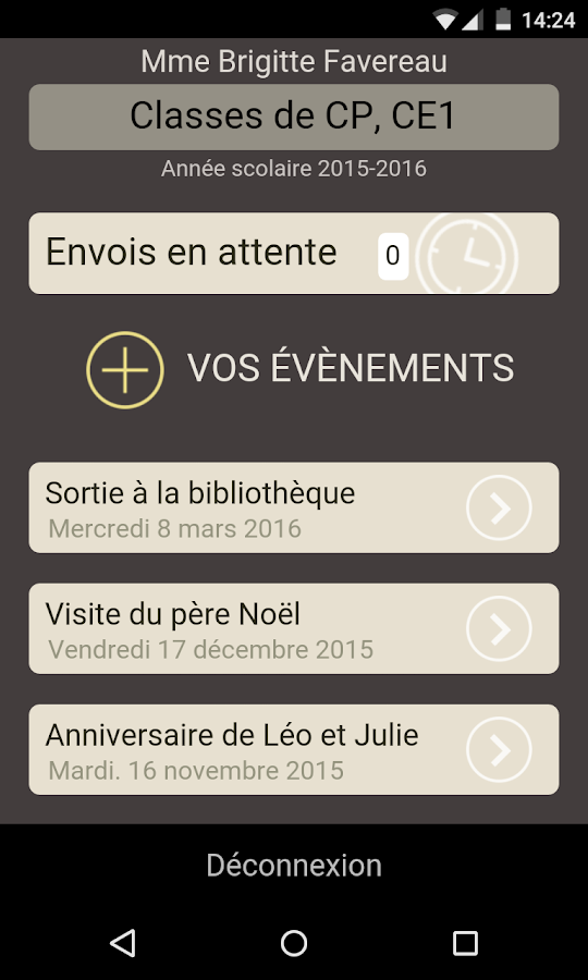 TouteMonAnnée enseignants- screenshot