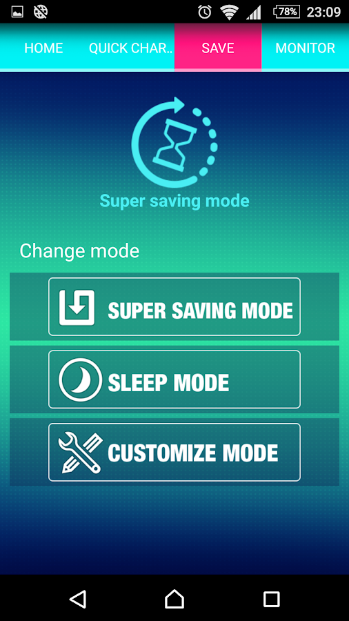 Battery Saver- screenshot