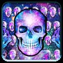 Galaxy skull Keyboard icon