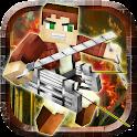 Titan Attack on Block Kingdom icon