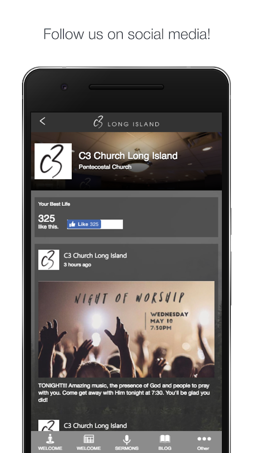 C3 Church Long Island- screenshot