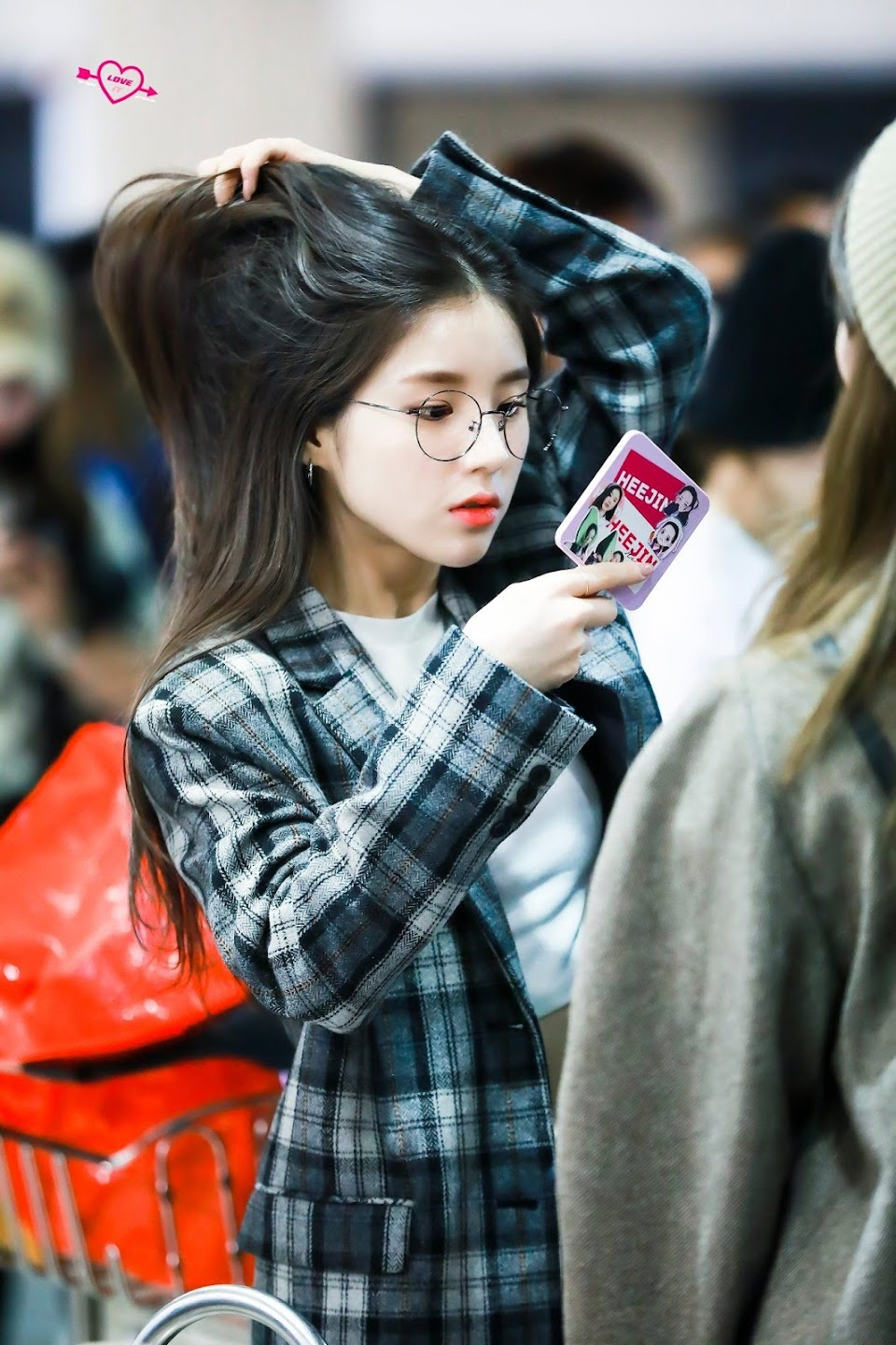 heejin plaid 12