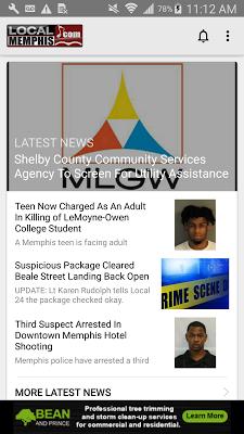 LocalMemphis News & Weather - screenshot