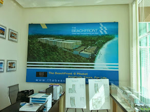 Photo: Ресепшен офиса продаж The BeachFront @ Phuket (Ocean front Condominiums and Vilas)