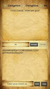 Secret Text Transfer - náhled