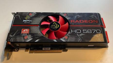 XFX Radeon HD 5870 HDMI DP 2xDVI 1GB
