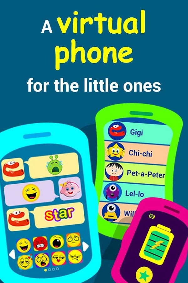 Play phone for kids🎈🎈🎈- screenshot