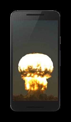 核爆弾の 3 D 壁紙
