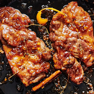 Maple-Habanero Glazed Pork Steaks Recipe