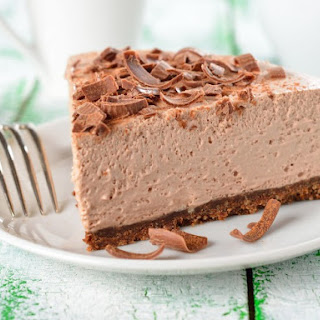 Vegan Chocolate Cheesecake.